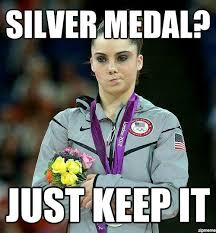 McKayla is not impressed with McKayla. - PandaWhale via Relatably.com