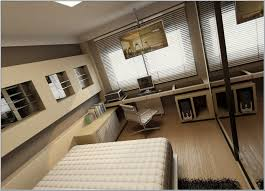 stylish office desk setup ideas elegant and stylish cream home office cum bedroom ideas for men amazing furniture modern beige wooden office