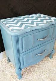 chevron stripe nightstand just got some night stands to re do and i am chevron painted furniture