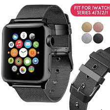<b>Laforuta Milanese Loop</b> for Apple Watch Band 40mm 44mm Series ...