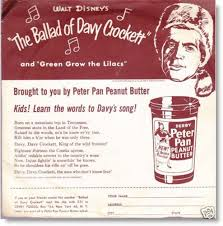 Image result for davy crockett 1950's merchandise