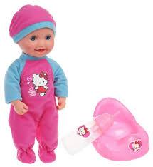 Интерактивный <b>пупс</b> Карапуз <b>Hello Kitty</b>, 30 см, ... — купить по ...