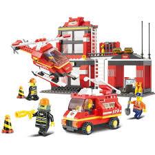 """Пластиковый <b>конструктор</b> """"<b>Пожарные спасатели</b>"""" 371 дет, в/к 38 ..."""