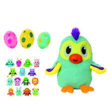 Игрушка набивная мягкая 3 пластиковых яйца с фигурками <b>1Toy</b> ...