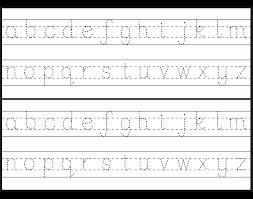 letter tracing worksheets for kindergarten capital letters alphabet tracing     worksheets ESL Kids Lab