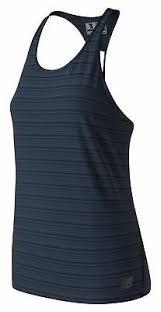 New Balance Women's <b>Q Speed Breathe Striped</b> Tank Black   eBay
