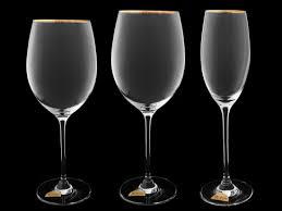 6558/14691/410 <b>Набор</b> бокалов для <b>вина Золотая</b> отводка из 6-ти