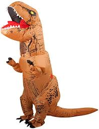 SEASONBLOW <b>Halloween Adult</b> Inflatable <b>T-rex Dinosaur</b> Party ...