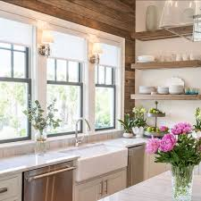 sink windows window love: oldseagrovehomes on instagram love the pallet wall in this kitchen