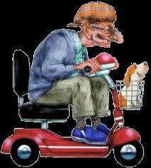 Resultado de imagen para personas ancianas en moto