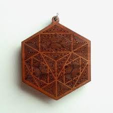 Sacred Geometry <b>Laser</b> Cut <b>Natural Wood</b>