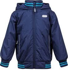 Купить <b>куртка</b> утепленная для <b>мальчика Barkito</b> темно-синяя ...