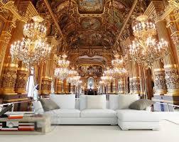 Luxury Palace Wallpaper <b>Custom 3d Wall</b> Mural Modern   Luxury ...