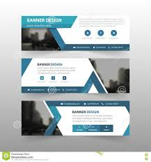 blue triangle abstract corporate business banner template blue triangle abstract corporate business banner template horizontal advertising business banner layout template flat design