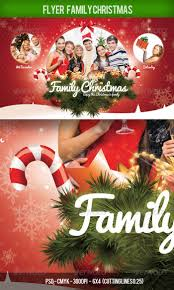 premium holiday flyer templates for you flyer christmas family