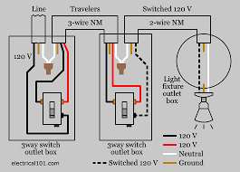 light switch wiring schematic 3 way switch wiring electrical 101 3 way light switch wiring diagram 1