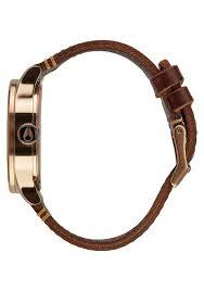 Sentry <b>Leather</b> | <b>Rose Gold</b> / Gunmetal / Brown | <b>Leather</b> | <b>Men's</b> ...