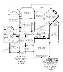 Mon Chateau House Plan     Luxurious European Manor House PlanFloor Plans for Ranch House Plans  European Floor Plans