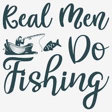 <b>Real Men Do Fishing</b> Fishing T Shirt Design Font Effect AI For Free ...