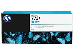 <b>HP</b> 773A 775-ml <b>Cyan DesignJet</b> Ink Cartridge   <b>HP</b>® United States
