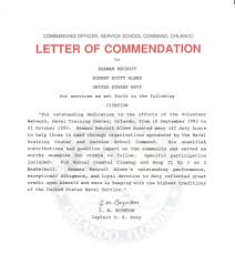 board for correction of navy records click image service school command letter of commendation