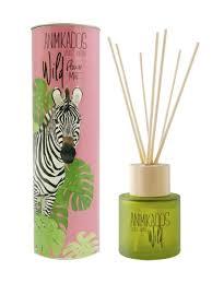 <b>Диффузор ароматический</b> Zebra - цветочный Wild 100 мл ...