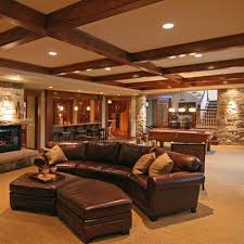 basements and cellars can be drab boring even terrifying but these incredible furnished basements will certainly bring a smile to your face basement rec room decorating