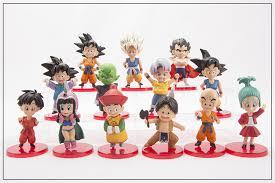 Anime <b>13pcs</b>/<b>set Dragon Ball</b> Z Son Goku Gohan Goten Vegeta ...