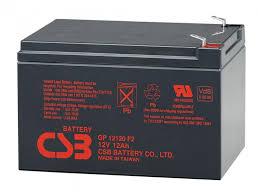 Аккумуляторные <b>батареи CSB GP 1272</b>(<b>28W</b>) 12В, 7,2А/ч купить в ...