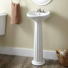 pedestal sink victorian ultra petite porcelain pedestal sink