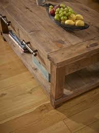 Country Reclaimed <b>Solid Wood</b> Farmhouse <b>Coffee Table</b> - Рустика ...