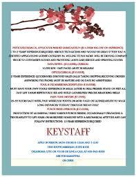 job seekers key staff job openings