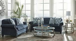 Navy Living Room Chair Lavernia Navy Living Room Set Benchcraft Furniture Cart