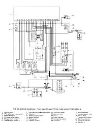 wiring diagrams type4 org d jetronic from 1971