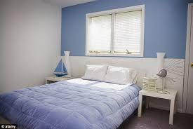 colours for a bedroom: calming people with a blue bedroom manage to get the most sleep per nightcalming