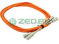 <b>Сетевой кабель VCOM Optical</b> Patch Cord SC-SC UPC Duplex 3m ...