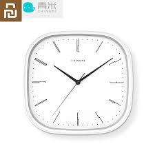 חדש <b>Youpin Chingmi</b> QM GZ001 שעון קיר אולטרה שקט אולטרה מדויק ...