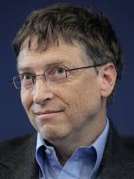 Was Bill Gates een soort Einstein, een soort zeldzaam genie dat in staat was door briljante uitvindingen zo schatrijk te ... - Bill_Gates_in_WEF_2007