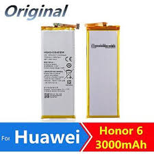 Buy 100 Percent <b>Original Huawei Honor</b> 6 Battery 3000mAh ...