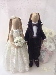 <b>Свадебная парочка</b> зайцев | классные игрушки | Wedding, Bunny ...
