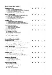 essay writing grade   Kathy Schrock s Guide to Everything math worksheet   rubric for resume writing rubric for resume writing persuasive    th Grade Writing