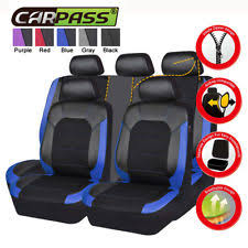 <b>CAR PASS</b> Blue <b>Car</b> and Truck <b>Seat</b> Covers for sale | eBay