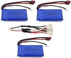 Fytoo Accessories 3PCS 7.4V 1500mah Lithium ... - Amazon.com
