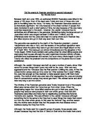 essay about holocaust  wwwgxartorg essay on the holocaust