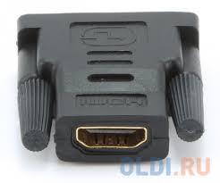 Адаптер (<b>переходник</b>) <b>Gembird</b> HDMI-DVI A-HDMI-DVI-2, 19F/19M ...