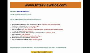 best top 10 books for c and programming interview question and best top 10 books for c and programming interview question and answer
