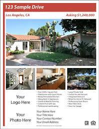 real estate flyer templates  excel pdf formats real estate flyer template 4454