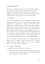 Impact of Immediate Leadership Style on Employee Performance with Ref