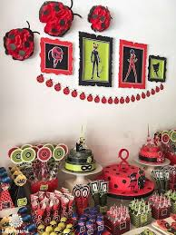 <b>Miraculous</b> Ladybug birthday party | CatchMyParty.com | Birthday ...