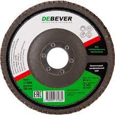 <b>Круг лепестковый</b> по металлу/древесине Debever (FDC 125A <b>60</b> ...